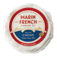 Marin French Cheese Triple Creme Brie Petite Creme Cheese