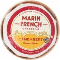 Marin French Cheese Rouge et Noir Original Camembert Soft-Ripened Cheese
