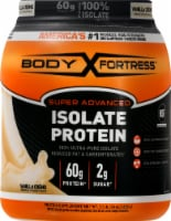 Body Fortress Super Advanced Vanilla Creme Isolate Protein Powder