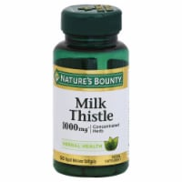 Nature's Bounty Milk Thistle Softgels 1000mg - 50 ct