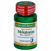 Nature's Bounty Melatonin Quick Dissolve Tablets 3mg