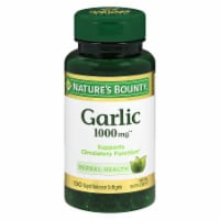 Nature's Bounty Garlic Rapid Release Softgels 1000mg