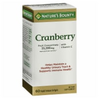 Nature's Bounty Cranberry Rapid Release Softgels 25200mg