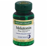 Nature's Bounty Melatonin Softgels 5mg 90 Count