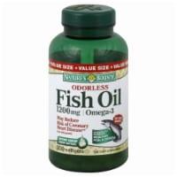 Nature's Bounty Odorless Fish Oil 1200mg