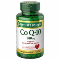 Nature's Bounty Co Q-10 Softgels 200mg 80 Count