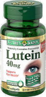Nature's Bounty Lutein 40mg Vitamins