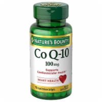 Nature's Bounty Co Q-10 Softgels 100mg