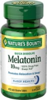 Nature's Bounty Melatonin Quick Dissolve Tablets 10mg
