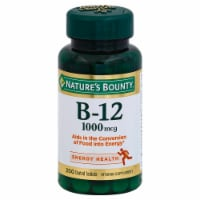 Nature's Bounty Vitamin B-12 Coated Tablets 1000mcg