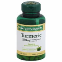 Nature's Bounty Turmeric Extract Capsules 538mg