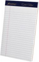 Ampad Gold Fibre Legal Ruled Perforated Pad - White