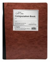Ampad Gold Fibre Ruled Computation Book - Brown