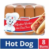 Bimbo Hot Dog Buns 8 Count