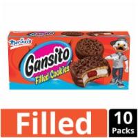 Marinela Ganisto Filled Cookies - 10 ct / 1.48 oz