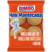 Bimbo Mantecades Mini Muffins - 4 Pack