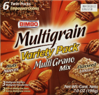 Bimbo Multigrain Bars Variety Pack