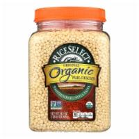 Riceselect Couscous, Pearl, Plain Organic  - Case of 4 - 24.5 OZ - Case of 4 - 24.5 OZ each