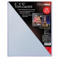 Ultrapro 8X10  Toploader - PACK