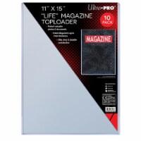 Ultrapro Life Magazine Toploader (7Mm) - PACK