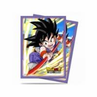 Ultra Pro ULP85774 Dragon Ball Z Explosive Spirit Son Goku Deck Protectors - 65 Count - 65