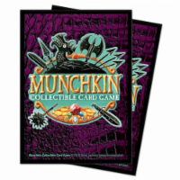 Ultra Pro ULP85815 Munchkin CCG Card Back Deck Protector Sleeves, 100 Count