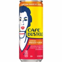 Cafe Bustelo Cafe Con Dulce de Leche Caramel Espresso Drink with Milk