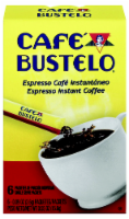 Cafe Bustelo Espresso Instant Coffee Packets