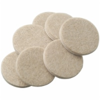 Softtouch® by Waxman Self-Stick Felt Pads - 16 Pack - Tan - 1 Inch