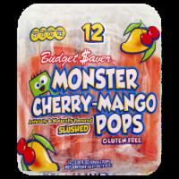 Budget Saver Gluten Free Cherry-Mango Monster Pops - 36 oz