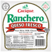 Cacique Ranchero Queso Fresco Part Skim Milk Cheese