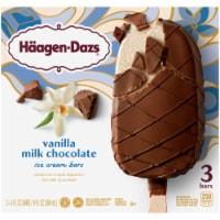 Haagen-Dazs Gluten Free Vanilla Milk Chocolate Ice Cream Bars