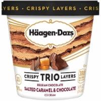Haagen-Dazs Salted Caramel & Chocolate Trio Crispy Layers Ice Cream