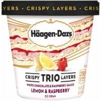 Haagen-Dazs Crisy Trio Layers Lemon & Raspberry Ice Cream