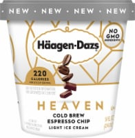 Haagen-Dazs Heaven Cold Brew Espresso Chip Light Ice Cream