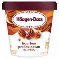 Haagen-Dazs Spirits Bourbon Praline Pecan Ice Cream
