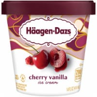 Haagen-Dazs Cherry Vanilla Ice Cream