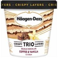 Haagen-Dazs Coffee & Vanilla Belgian Chocolate TRIO Crispy Layers Ice Cream