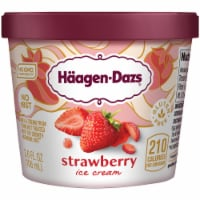 Haagen-Dazs Gluten Free Strawberry Ice Cream Cup