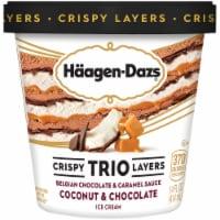 Haagen-Dazs Coconut & Chocolate Trio Crispy Layers Ice Cream