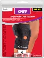 Mueller Adjustable Knee Support - Black - 1 ct