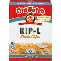 Old Dutch Super Size Rip-L Potato Chips - 15 oz