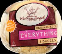 Western Bagel Everything Bagels