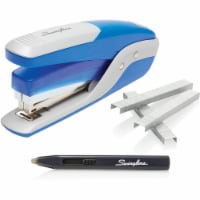 Swingline Quick Touch Stapler Value Pack, 28-Sheet Capacity, Blue/Silver 64584 - 1