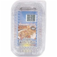 DDI 2289477 2-Pack Bake & Take Mini Loaf Pan with Lid Case of 12