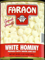 Faraon White Hominy
