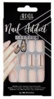 Ardell Nail Addict Premium Blush Geometric Crystal False Nail Kit