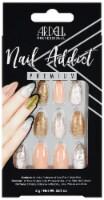 Ardell Nail Addict Pink Marble and Gold False Nail Kit