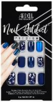 Ardell Nail Addict Premium Matte Blue False Nail Kit