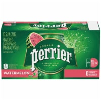 Perrier Watermelon Sparkling Natural Mineral Water 10 Cans